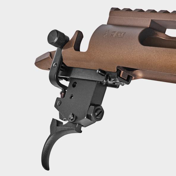 a gun with a scope